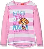 Leomil Fashion Mädchen Langarmshirt LS T-Shirt, Rosa (Pink PNK), 128 (Herstellergröße: 8)