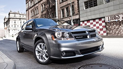 dodge-avenger-customized-43x24-inch-silk-print-poster-affiche-de-la-soie-wallpaper-great-gift