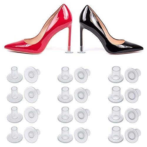 Wady Protege Talon 24 Paires, Protection Talon Chaussure, Heel Protectors Stoppers Couvertures pour Courses, Mariages, Occasions Formelles, 3 Tailles