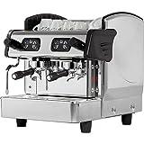 Zweigruppige Siebträgermaschine Kaffeemaschine 460 x 590 x 530 mm 6 Liter 2,8 kW 230 V Boiler aus Kupfer elektronische Steuerung