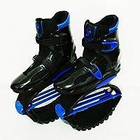 Saltar Rebotar Zapatos Unisex Jumping Boots Bounce Outdoor Sports,Blue,XL