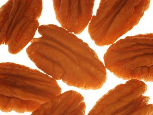 Pekanüsse Nüsse & Saaten, halbe Früchte, 1. Sorte, zum Knabbern & Backen, für Salate, Müslis & Desserts, 900g - Bremer Gewürzhandel
