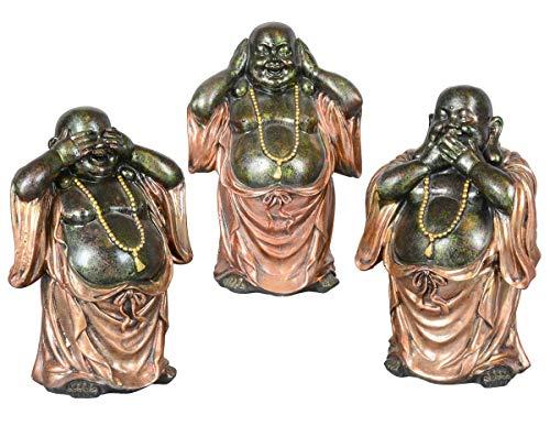 Aricola Buddha Figuren Set 3-tlg.
