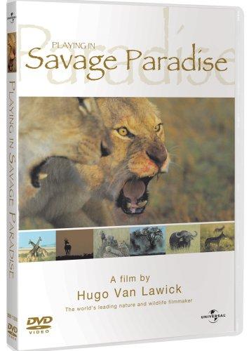 hugo-van-lawick-playing-in-savage-paradise-edizione-regno-unito