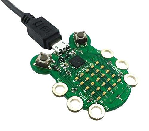 Codebug scheda di sviluppo computer indossabile programmabile con raspberry pi connecitivity e immissione tocco sensibile / ichoose