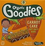 Organix Brands Carrot Cake Soft Oaty Bars, 180g