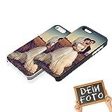 Handyhülle für Apple iPhone-Serie mit eigenem Foto und Text * bedrucktes Schutz Cover Case, Hardcase Apple:Apple iPhone 5 / 5S / SE, Hardcase Farben:Schwarz (Matt)
