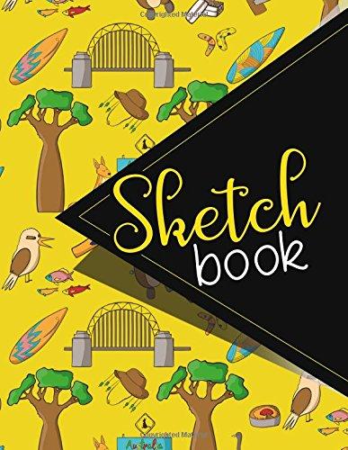 Fashion Sketchbook Designer (Sketchbook: Sketch Book, Art Sketchbook, Fashion Sketch Book For Designers, Sketch Book For Men, Sketchbook For Drawing, Cute Australia Cover. 8.5 x 11)