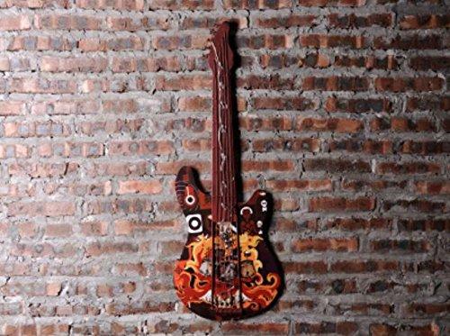 American Retro chitarra luce della decorazione squadra musica photo muro della parete del LED personalizzato barra tridimensionale stile rock , ledjt-d - Ragazze Personalizzato Photo