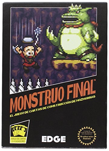 Monstruo Final - Juego de Cartas (Edge Entertainment EDGBOS01)