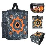 Vidillo Target Pouch Ausrüstungstasche für Kinder Tatical Vest Kit für Nerf-Waffen, Aufbewahrungstasche für Ausrüstungsbeutel für Nerf N-Strike Elite, Mega- und Rival-Serie