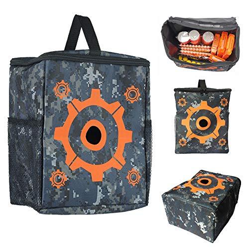 Vidillo Target Pouch Ausrüstungstasche für Kinder Tatical Vest Kit für Nerf-Waffen, Aufbewahrungstasche für Ausrüstungsbeutel für Nerf N-Strike Elite, Mega- und ()