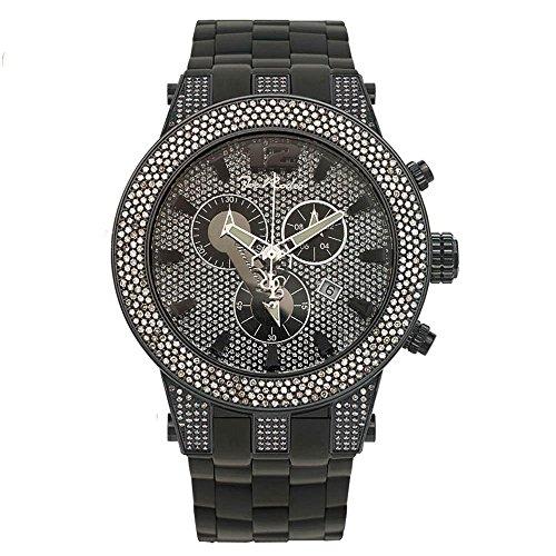 Joe Rodeo Diamond Men's Watch - BROADWAY black 5 ctw