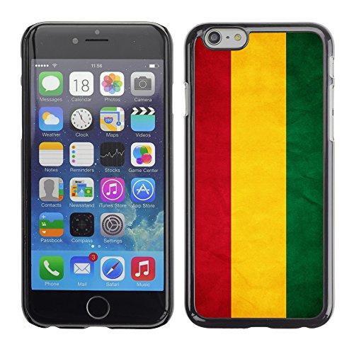 Graphic4You Vintage Uralt Flagge Von Peru PeruanerDesign Harte Hülle Case Tasche Schutzhülle für Apple iPhone 6 Bolivien Bolivianer