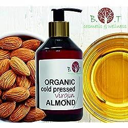 Aceite de Almendras Ecológico Prensado en Frío 100% Puro 250 ml