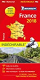 Carte France Indéchirable Michelin 2018...