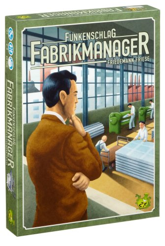 2F-Spiele - Funkenschlag: Fabrikmanager