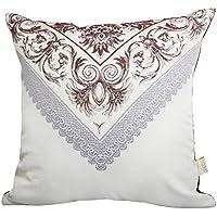 Cojines del sofá de lujo del Almohada de tela europea Almohada de oficina-F 60x60cm(24x24inch)VersionA