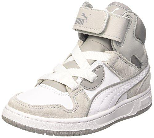 Puma - Puma Rebound Street Sd Jr, Alte Scarpe Da Ginnastica infantile Bianco (White/Drizzle)