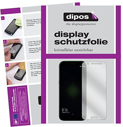 dipos I 2X Schutzfolie klar passend für Xiaomi Black Shark Folie Bildschirmschutzfolie