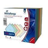 MediaRange BOX37 Custodie Morbide CD Soft Cases Slim, 20 pezzi, 5 colori x 4 custodie