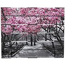 Cuadro Palet impresion de alta definicion, Flores Cerezo 90x160 cm