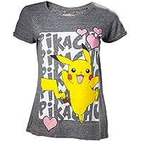 Pokemon - Pikachu Love Women's T-Shirt L [Importación alemana]
