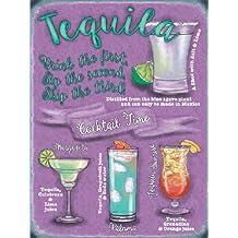 Tequila Drinks Cartel de Chapa Placa metal Estable plano Nuevo 15x20cm VS5534-1