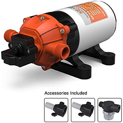 SeaFlo ad alta pressione pompa 12V DC 2,2gpm 70psi autoadescante per auto lavaggio auto