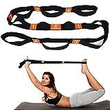 BYEONE Elasticità Del Cinturino Elastico Per Yoga Elastico Con Impugnatura A Più Fibbie Terapia Fisica Calda Maggiore Flessibilità