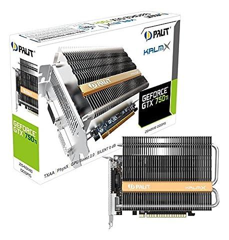 Nvidia Gtx 750 Ti - Palit NE5X75T00941H Carte graphique GRA PCX GTX750Ti