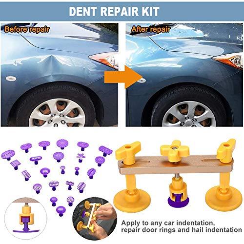 Dadahuam kit di riparazione di ammaccature, kit di strumenti di riparazione di carrozzeria auto estrattore di ammaccature di auto con estrattore di ammaccature per auto a ponte di aspirazione