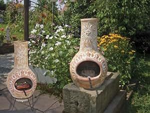 Barbecue aztèque en terre cuite