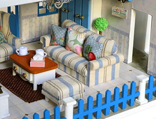 Mobili Per Casa Delle Bambole Fai Da Te : Kit per casa delle bambole fai da te in miniatura in legno fatta a