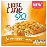 Faser Eine 90 Kalorien 5 Gesalzene Karamel Quadrate 120G