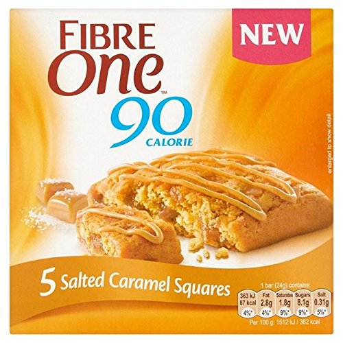 fibre-one-90-calories-5-salted-caramel-squares-120g