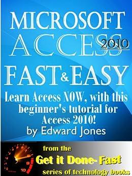 microsoft access 2010 book reviews