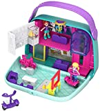It's time for fun at the mall with the Polly Pocket World Mini Mall Escape compact! Shaped like a purse, the compact opens to a mall-themed world complete with micro Polly and Lila dolls. There's so much to explore and reveal: there's a movie...