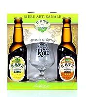 Au dos de ce coffret il est à retrouver l'histoire de Christophe Ratz - Pour information la bière Ratz est une bière naturelle non pasteurisée. Cette recette unique par la sélection des levures lui permet d'évoluer dans l'harmonie des saveurs au fil ...