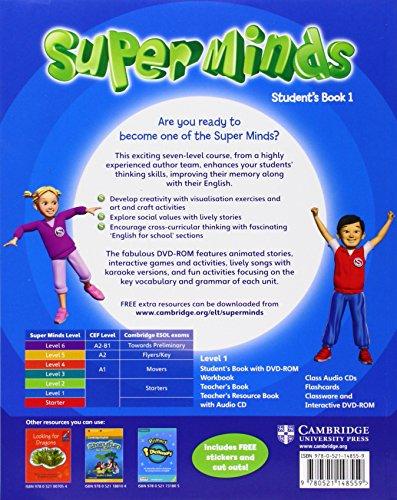 Super minds. Student's book. Per la Scuola elementare. Con DVD-ROM. Con espansione online: SUPER MINDS 1 SB/DVD ROM