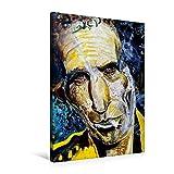 Premium Textil-Leinwand 50 cm x 75 cm hoch, Keith Richards | Wandbild, Bild auf Keilrahmen, Fertigbild auf echter Leinwa