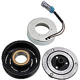 maXpeedingrods Klimakompressor Magnetkupplung für Astra G Astra H Corsa Meriva Zafira 12V