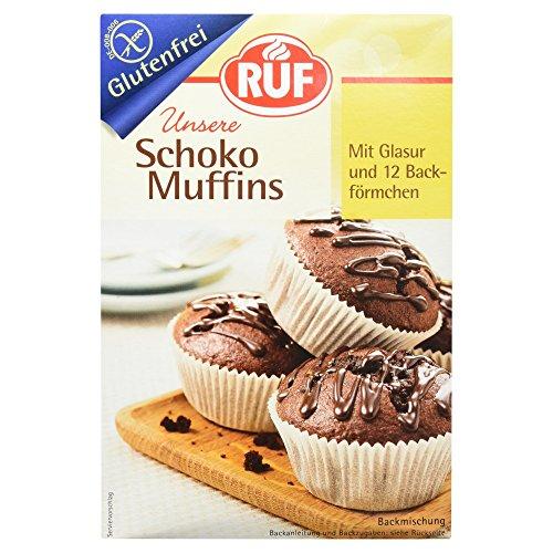 Ruf Schoko Muffins glutenfrei, 4er Pack (4 x 350 g)