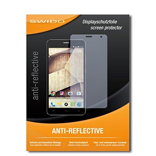 SWIDO Bildschirmschutz für Allview P6 Qmax [4 Stück] Anti-Reflex MATT Entspiegelnd, Hoher Härtegrad, Schutz vor Kratzer/Glasfolie, Schutzfolie, Bildschirmschutzfolie, Panzerglas Folie