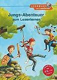 Jungs-Abenteuer zum Lesenlernen: Einfache Geschichten zum Selberlesen ? Lesen ?ben und vertiefen (LESEMAUS zum Lesenlernen Sammelb?nde)