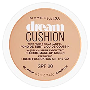 Maybelline Dream Cushion Liquid Foundation, 30 ml, Number 40, Fawn