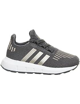 Adidas Swift Run I, Zapatillas de Deporte Unisex niño, Gris (Gricin/Cobmet / Ftwbla 000), 26.5 EU