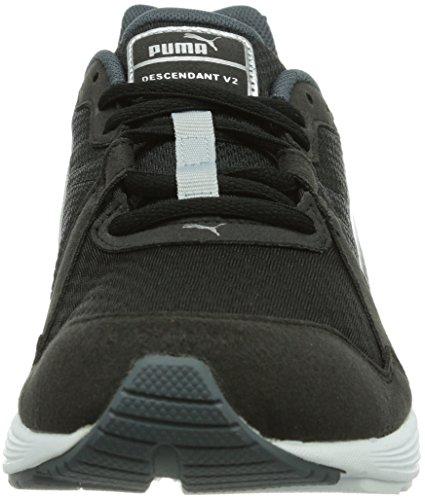 Puma Descendant V2, Chaussures de sports extérieurs homme Noir (Black/Puma Silver)