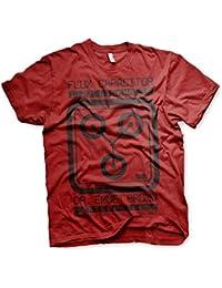 Officiellement Sous Licence Flux Capacitor Hommes T-Shirt (Tango Rouge)