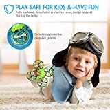 EACHINE E016H Mini Drone,RC Quadcopter Drone for Kids and Beginners with 3D Flip+2 batteries